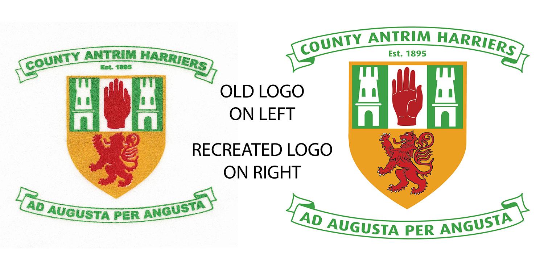 Antrim Harriers Logo