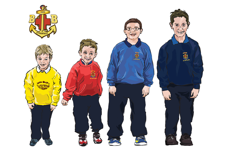 BB Boys uniforms