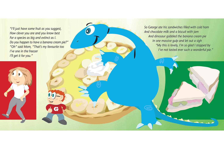 Dino Book spreads