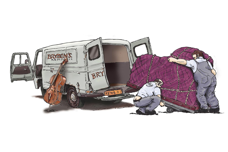 Van for concert