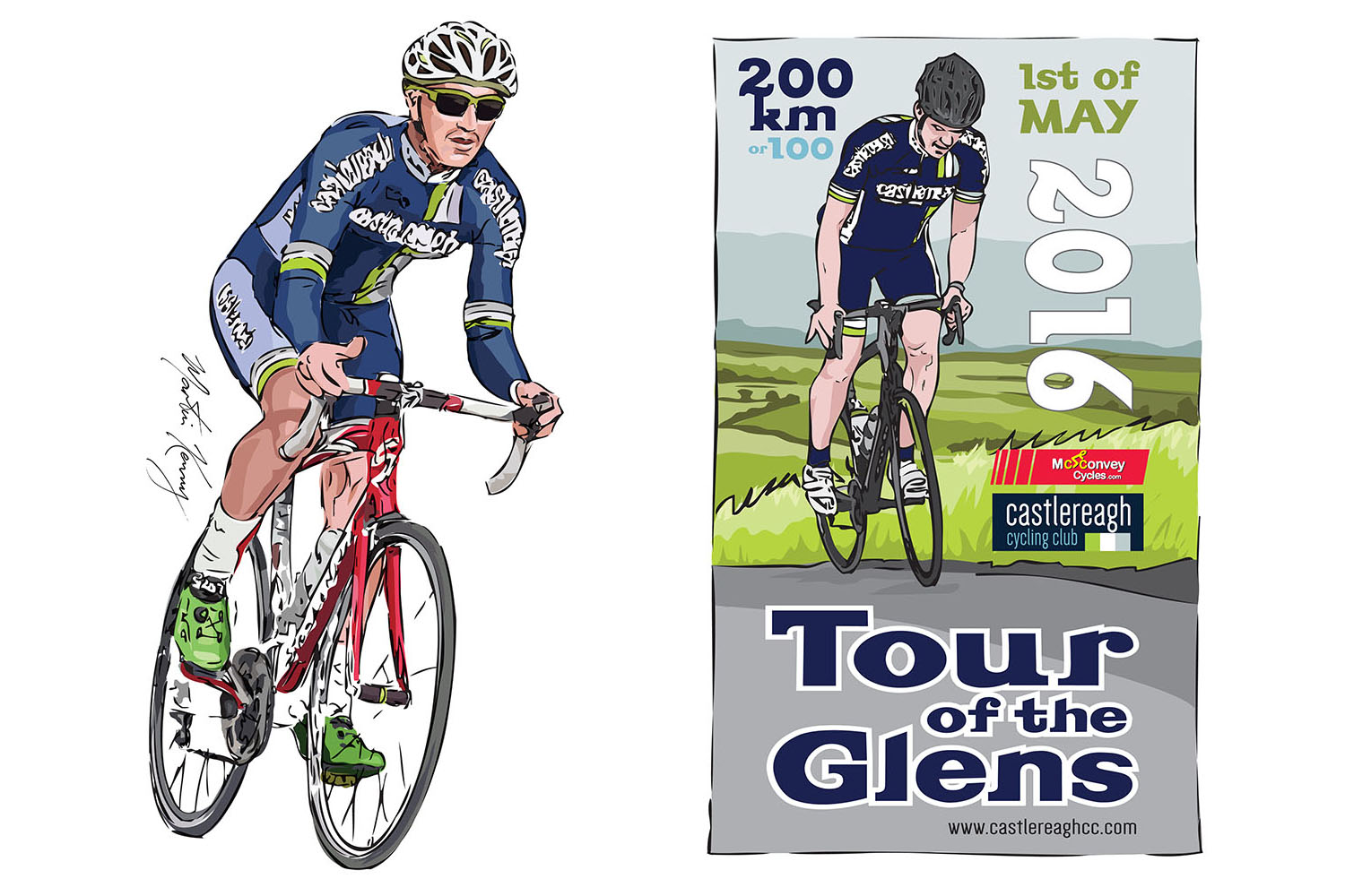 Tour of the Glens