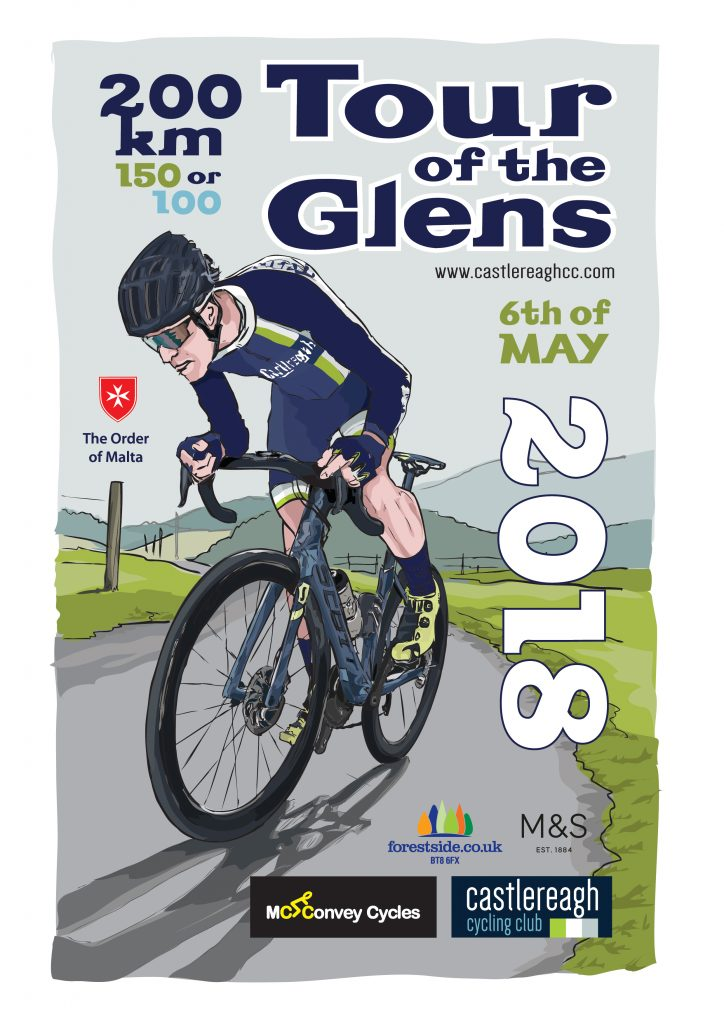 Tour of the Glens Poster