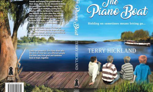 The Piano Boat book cover design