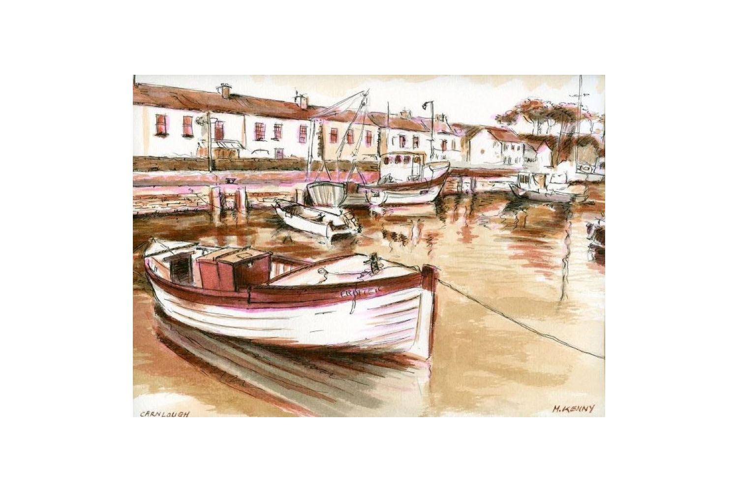 Harbour Boats drawing