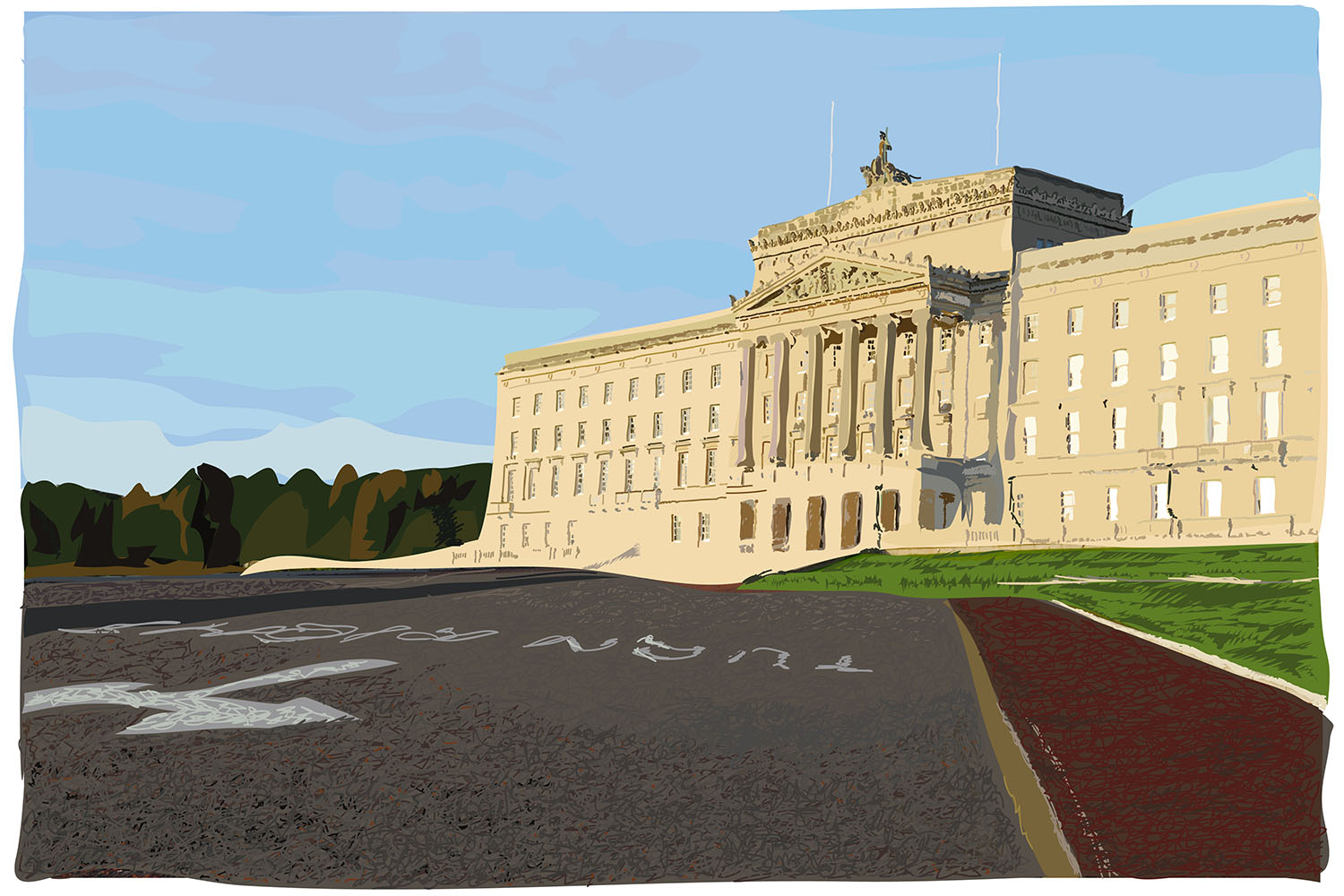 Stormont Drawing